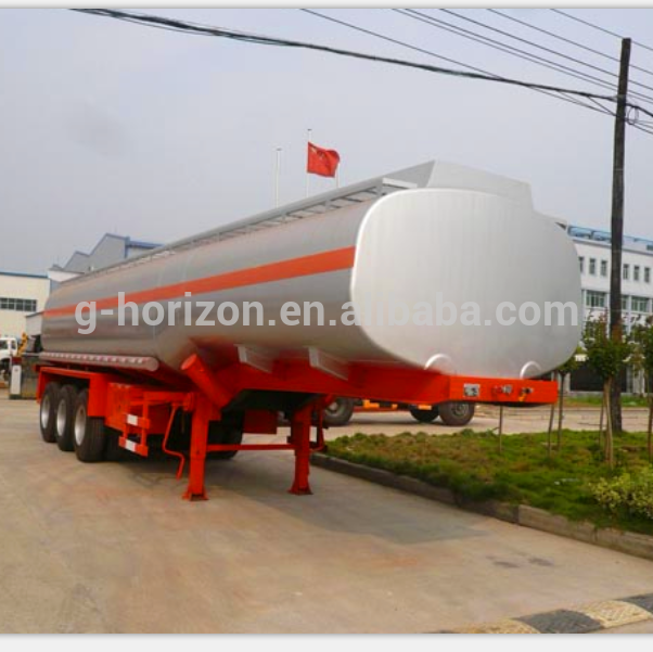 Compressed-natural-gas-semi-trailer-fuel-tank